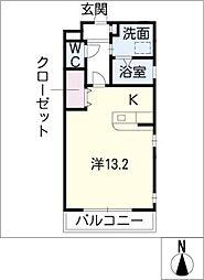 I HILLS kakita[1階]の間取り