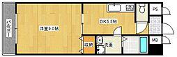 アンプルールべトンHISASHI[2階]の間取り