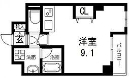 D−room城東[402号室号室]の間取り