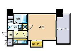 エステートモア博多グラン[3階]の間取り
