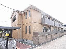 兵庫県姫路市四郷町見野の賃貸アパートの外観