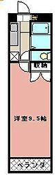 KMマンション八幡駅前III[515号室]の間取り