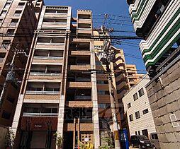 京都府京都市中京区三文字町の賃貸マンションの外観