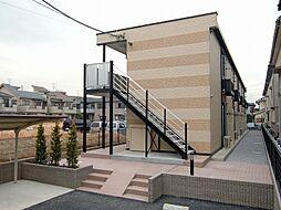 埼玉県さいたま市桜区白鍬の賃貸アパートの外観