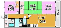 メゾンエトワール 川俣本町 高井田15分[1階]の間取り