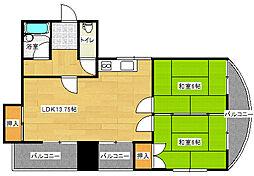 ドリームマンション[121号室]の間取り
