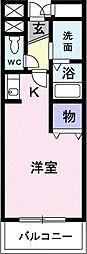 東京都小平市上水本町6丁目の賃貸マンションの間取り