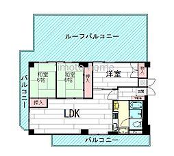 ライオンズマンション第8緑地公園[5階]の間取り