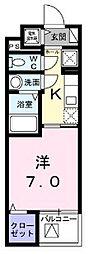 シェモワ 八尾[403号室]の間取り