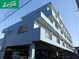 三重県津市高茶屋5丁目の賃貸マンションの外観
