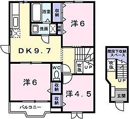 サニ−ハウスI[0201号室]の間取り