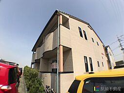 HIROコーポA棟[2階]の外観