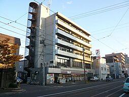 北海道札幌市中央区南十三条西6丁目の賃貸マンションの外観