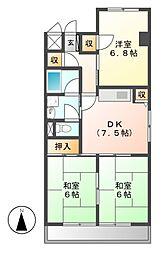メゾン政喜3[3階]の間取り
