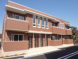 岡山県倉敷市連島2の賃貸アパートの外観