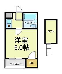 アーバンコートダイドー[2階]の間取り