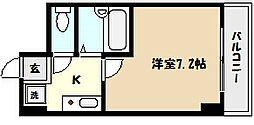 兵庫県芦屋市公光町の賃貸マンションの間取り