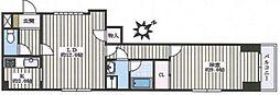 ステージ東池袋[2階]の間取り