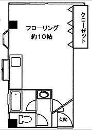 橋本ビル[4階]の間取り