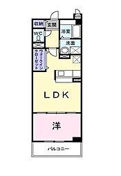 埼玉県所沢市大字山口の賃貸マンションの間取り