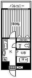 サンクウット71[401号室]の間取り