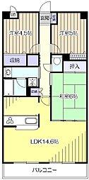 JUN青葉町コート[3階]の間取り