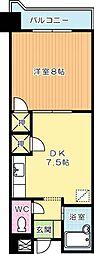 第3泰平ビル[1104号室]の間取り