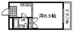 フローラル21 A棟[202号室]の間取り
