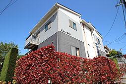 広島県広島市南区本浦町の賃貸アパートの外観