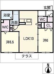 仮)シャーメゾン岩崎[1階]の間取り