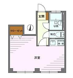 ごとう荘[1階]の間取り