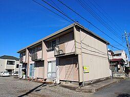 栃木県宇都宮市双葉1丁目の賃貸アパートの外観
