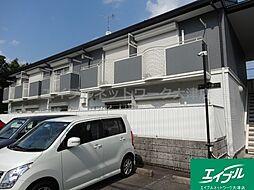 滋賀県大津市御陵町の賃貸アパートの外観
