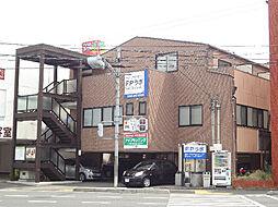 愛媛県松山市小坂3丁目の賃貸アパートの外観