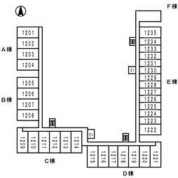 ロイヤルパークス西新井[1122号室]の外観