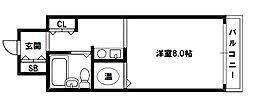 コボリマンション新大阪[4階]の間取り