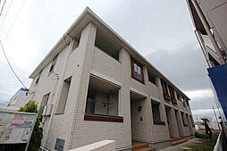 愛知県名古屋市中川区服部1の賃貸アパートの外観