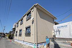 広島県福山市沖野上町5丁目の賃貸アパートの外観