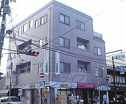 京都府京都市東山区辰巳町の賃貸マンションの外観