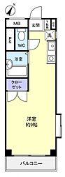 オーパス21[2階]の間取り