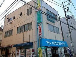東京都調布市布田4丁目の賃貸マンションの外観