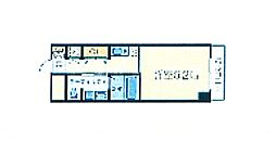 十三本町ウインズマンションII[4階]の間取り