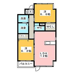Act Dream Home[3階]の間取り