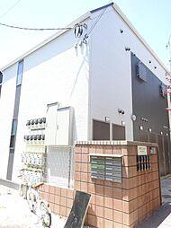 東京都北区赤羽西3の賃貸アパートの外観