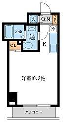 アーバンパーク新横浜[10階]の間取り