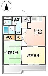 コンフォースM[1階]の間取り