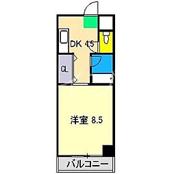 レスポワール[5階]の間取り