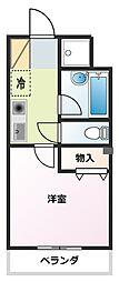 高島屋マンションII[202号室]の間取り