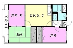 Happiness S[305 号室号室]の間取り