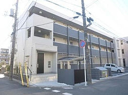 千葉県市川市塩焼2丁目の賃貸アパートの外観